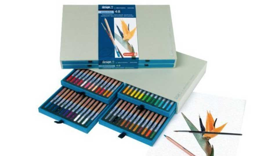 Aquarel potloden set